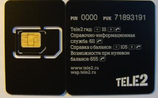 Сколько стоит сим-карта Теле2?
