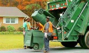 Сколько стоит вывоз мусора с человека?