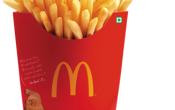 Сколько стоит картошка фри в Макдональдсе: цена за порции