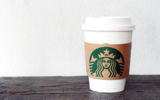Сколько стоит кофе в Старбаксе: цена на напитки