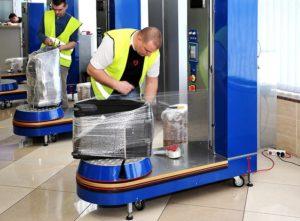 Сколько стоит упаковать чемодан в аэропорту
