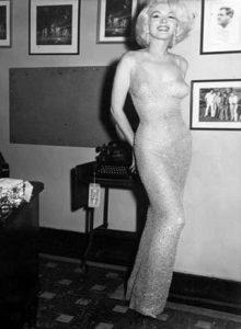 Платье Мерлин Монро на день рождение Джана Кеннеди