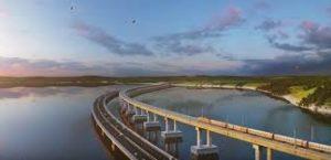 сколько стоит мост через Керченский пролив