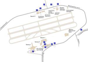 Стоимость парковки в аэропорту Шереметьево