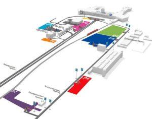 Схема парковки аэропорта Домодедово
