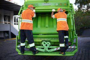 цена на вывоз мусора с человека