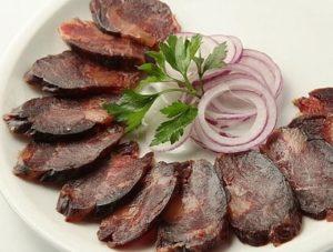 конская колбаса цена